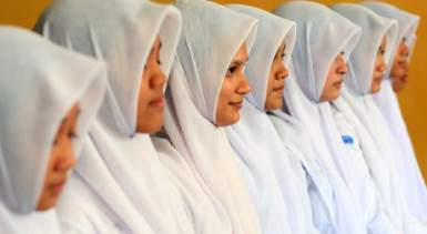female students indonesia