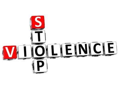 3D Stop Violence Crossword